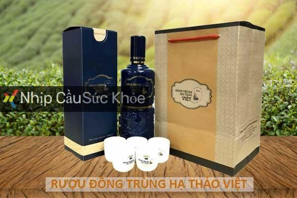 Rượu đông trùng hạ thảo Việt