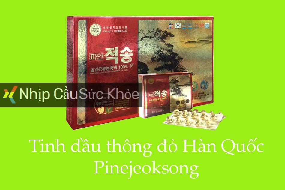 Tinh dầu thông đỏ Hàn Quốc Pinejeoksong