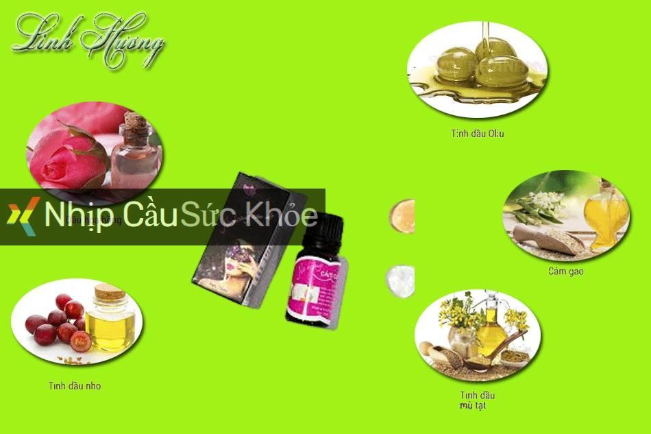 Cách sử dụng tinh dầu nở ngực Linh Hương