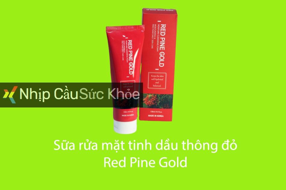 Sữa rửa mặt tinh dầu thông đỏ Red Pine Gold