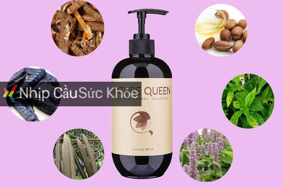 Thành phần dầu gội Nature Queen