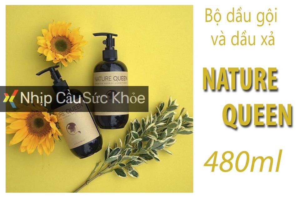 Bộ dầu gội và dầu xả Nature Queen