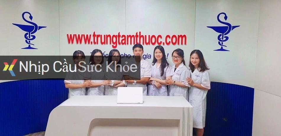 Đội ngũ nhân viên tại Trung Tâm Thuốc Central Pharmacy